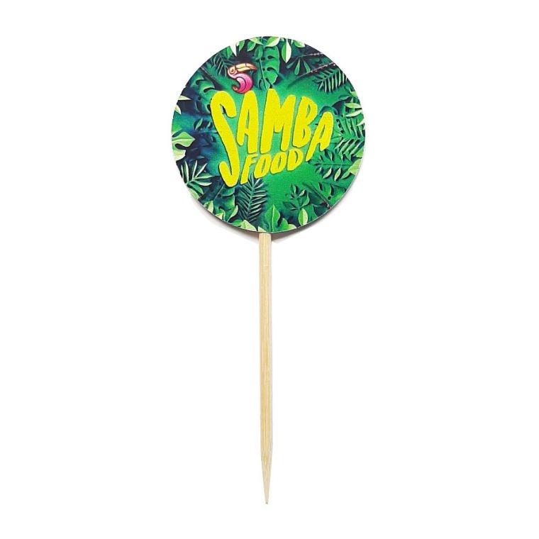Prikker voorbeeld van Samba Food