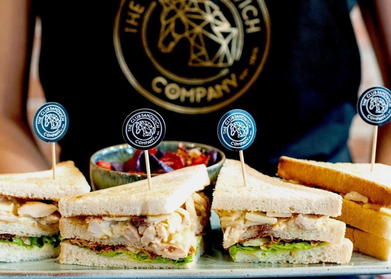 Prikkers in sandwich